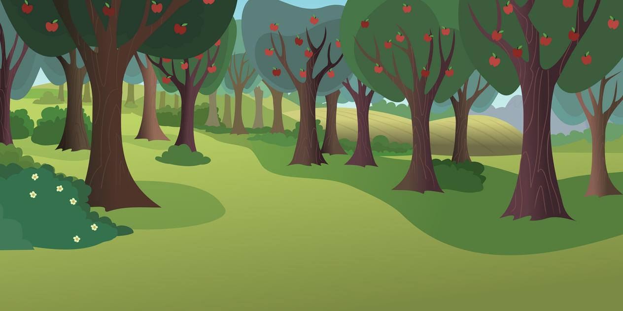 apple orchard by matty4z