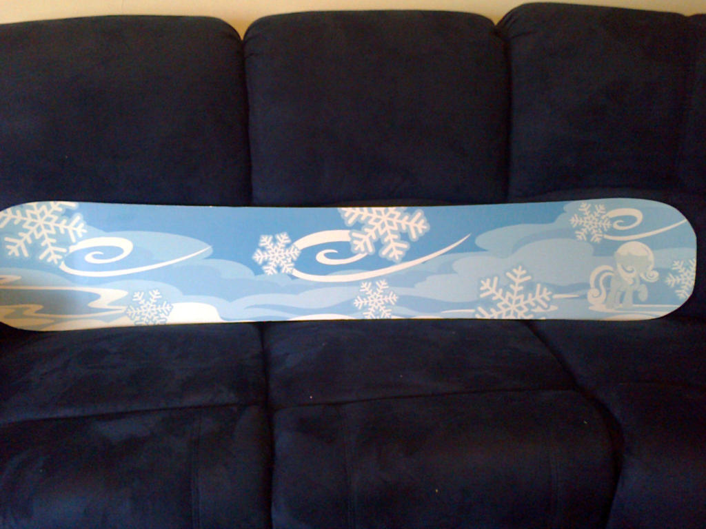 snowdrop snow board finished