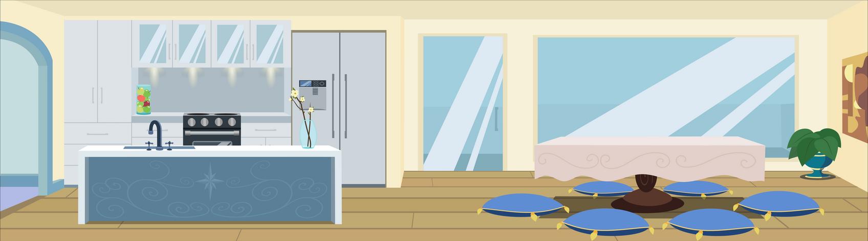 mlp modern kitchen by matty4z on DeviantArt