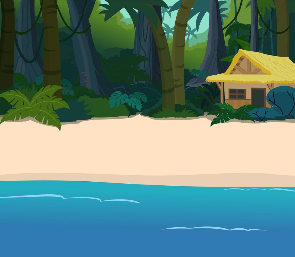 Beach Side Jungle Hut