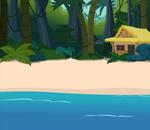 Beach Side Jungle Hut