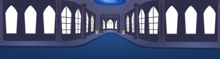 Scene 2  Everfree Castle New Wip by matty4z