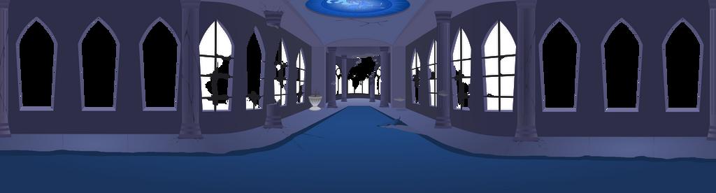 Scene  2  Everfree Castle Old Wip by matty4z