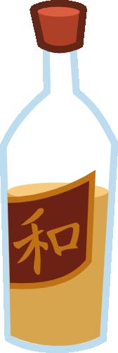 whiskey bottle by matty4z