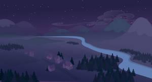 sky+mountain night wip(fail)