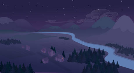 sky+mountain night wip(fail)