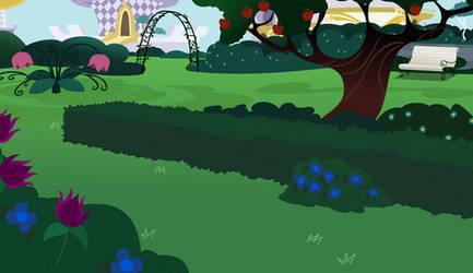 Mlp Canterlot Garden -gala-shy-day -done