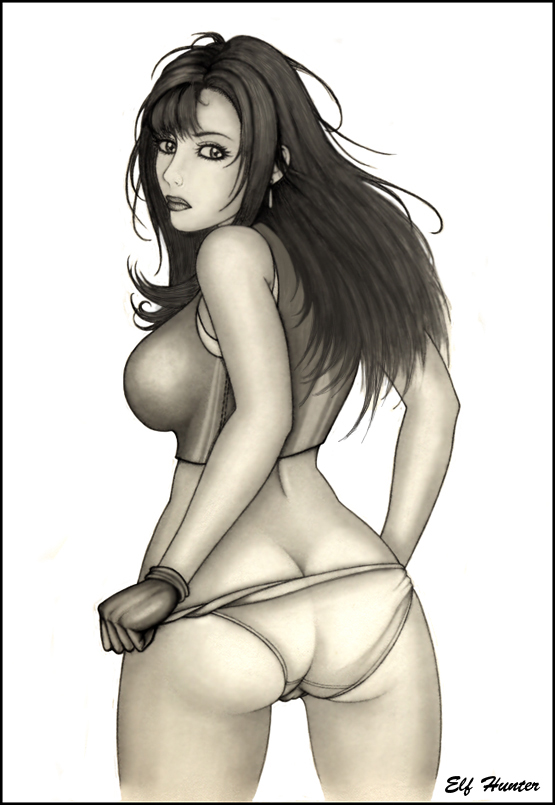 Tifa - Another Perspective by Elf-Hunter