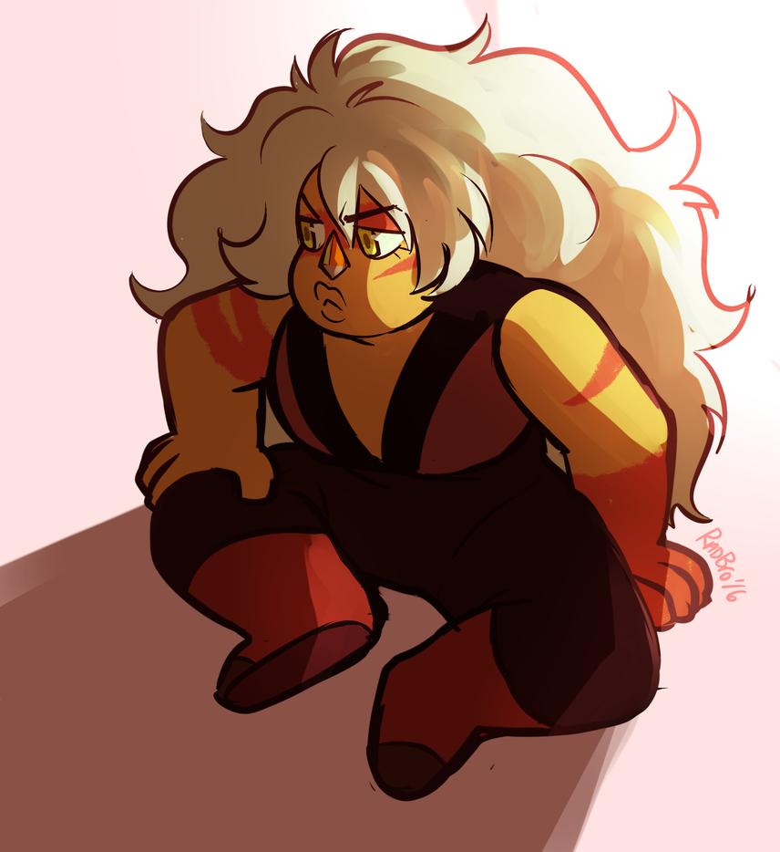 I really miss Jasper, where's my big bara crush