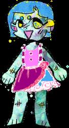 Paint Splatter Chibi ~ Free Adoptable by bunniesfortea