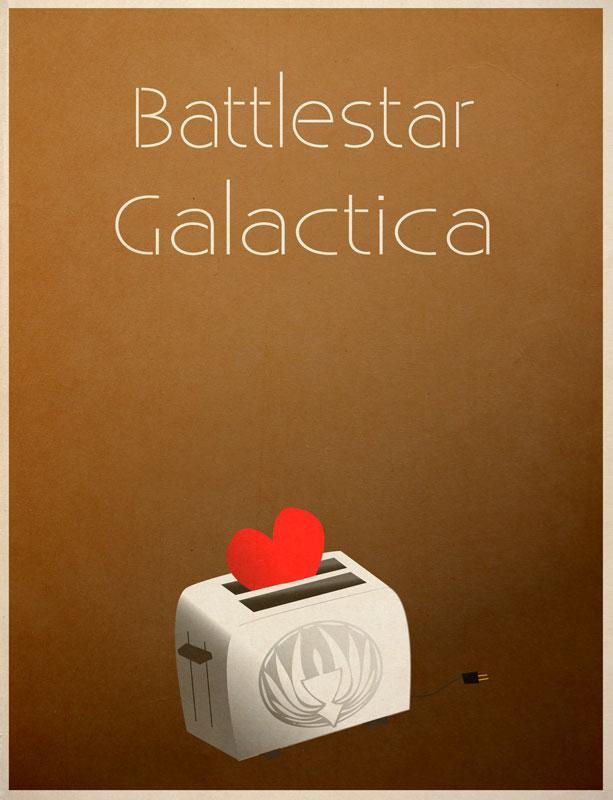 Battlestar Galactica by sdotwhoa