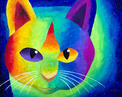Mellow Cat by Xpand-The-Mind