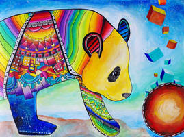 Panda Wonder by Xpand-The-Mind