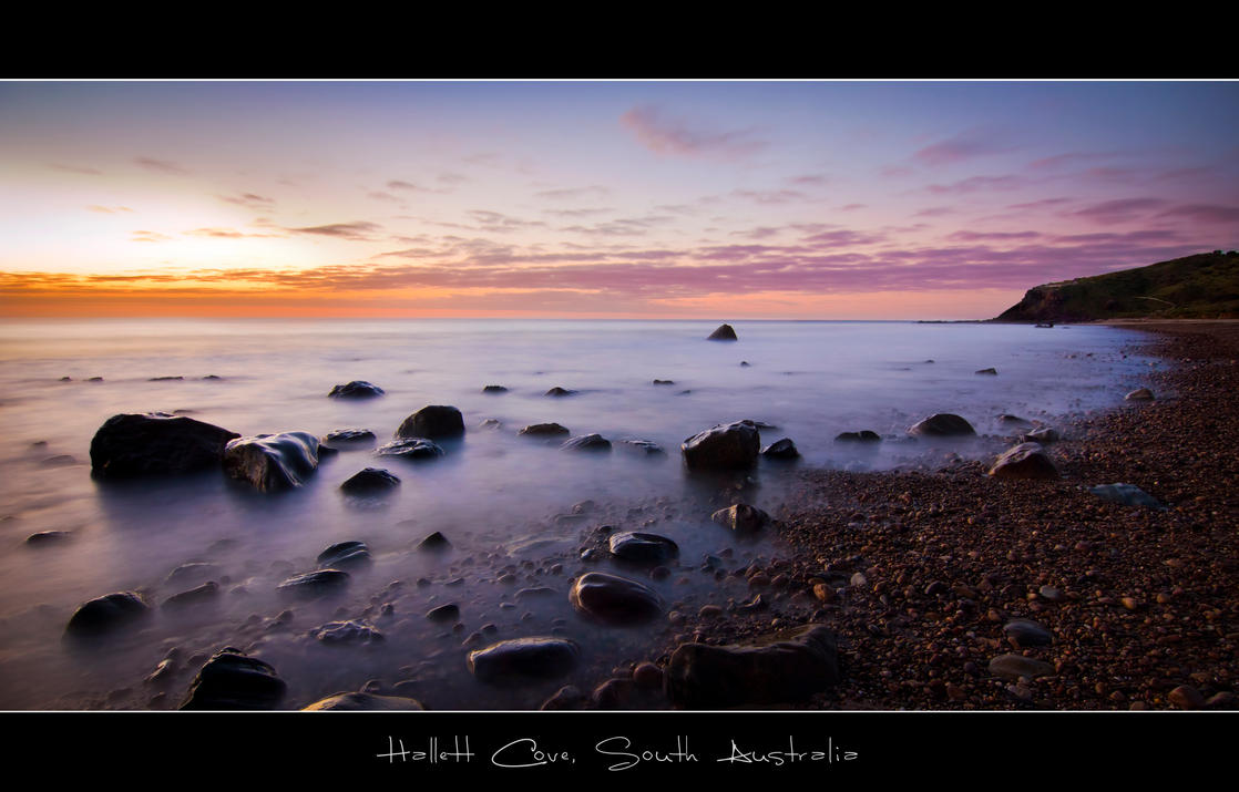 Hallett Cove Sunset by sa-nick86