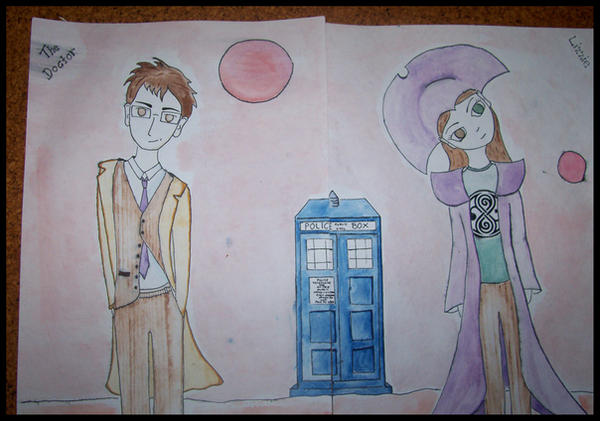 The Doctor and Lizzie by banshee-choirgirl