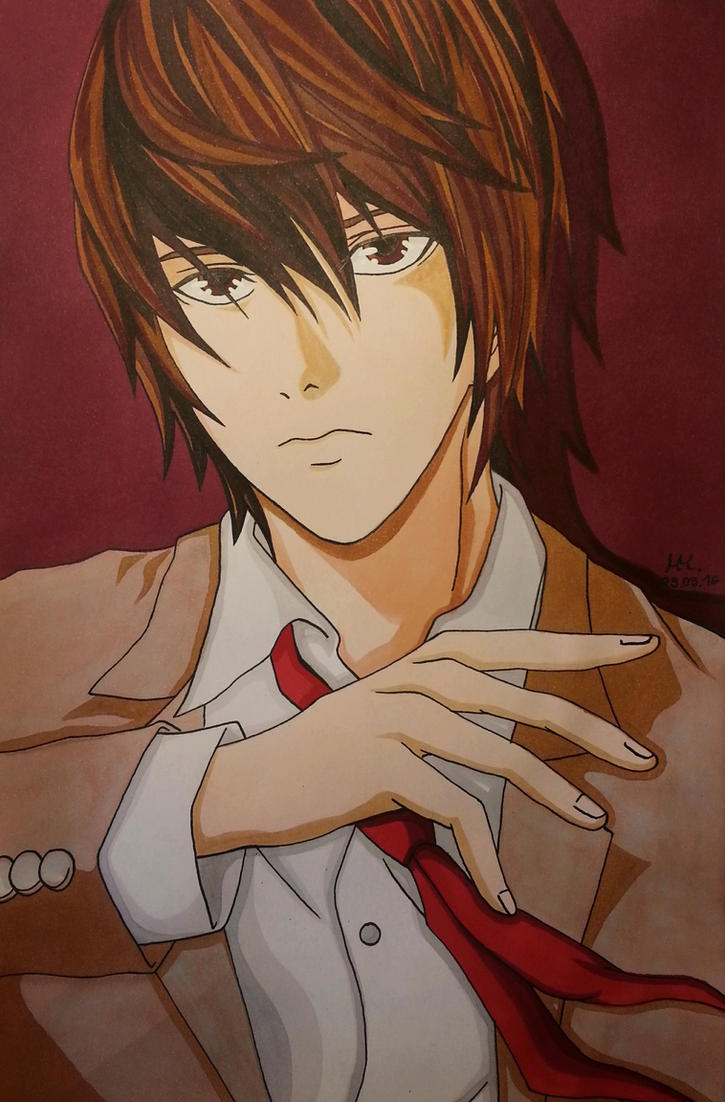 Light Yagami by shiro1850