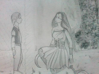 Geoffrey and Angora by AmitielFatum