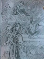 Hel,Vali and Narvi by AmitielFatum