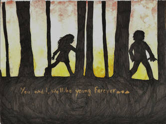 We'll be young forever by CaeiroDaniela