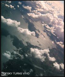 The sky turns vivid by NKeo