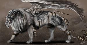 Gabriel's lion