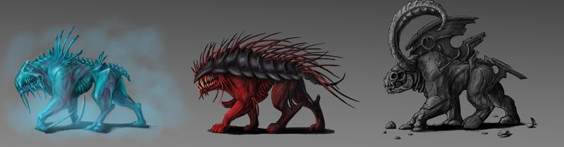 Beast concept by BlackSnakeSister-art