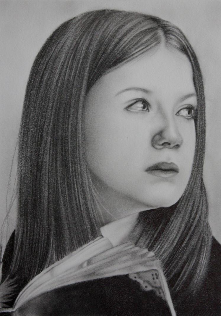 Ginebra Weasley by judyeve