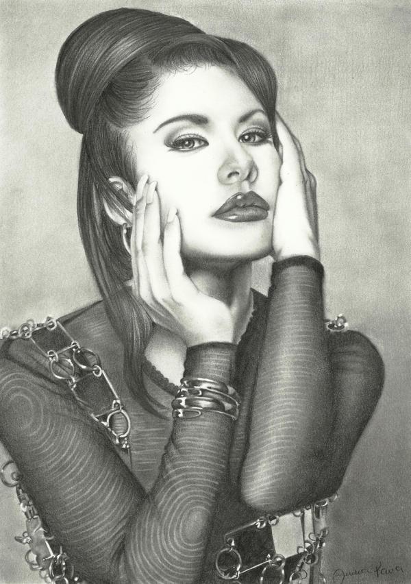 Selena Q by judyeve
