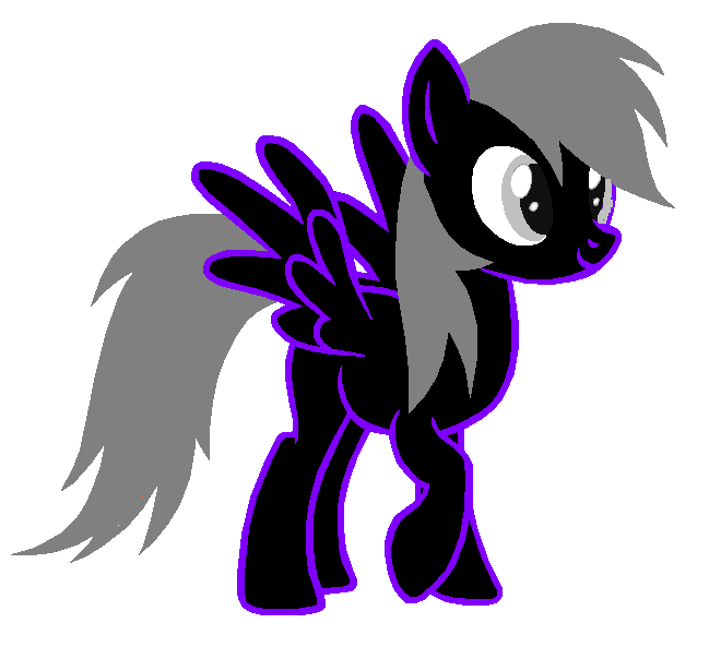 my pony ghost form by srmthfgfan724