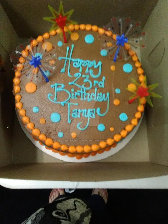 My 23rd Birthday Cake By Srmthfgfan724 On Deviantart