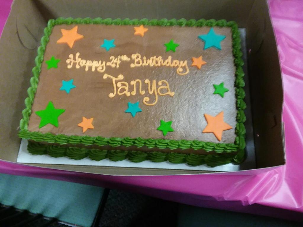 My 24th Birthday Cake By Srmthfgfan724 On Deviantart