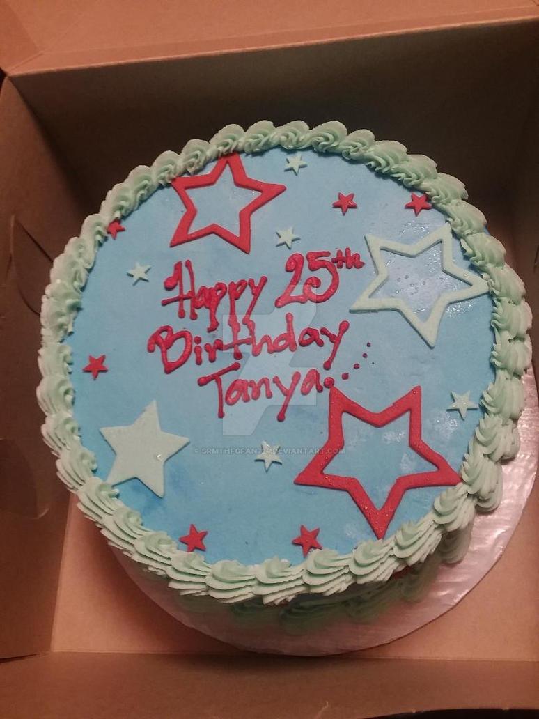 My 25th Birthday Cake By Srmthfgfan724