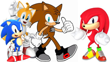 Colin Sonic Tails and Knuckles