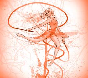 danceORANGE by DaughterOfMetis