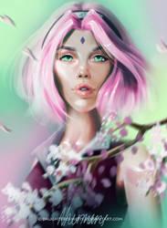 Sakura Haruno by DaughterOfMetis