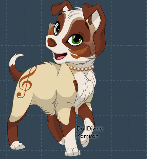 A new puppy character! by popecba