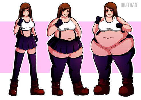 Tifa Weight Gain Sequence