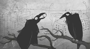 Crow by RumourTheNoir