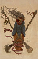 The Baba Yaga by Samolo