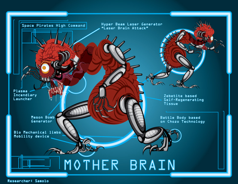 mother brain metroid - photo #8