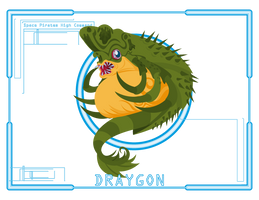 Metroid Scan: Draygon by Samolo