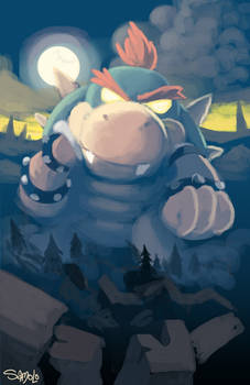 Baby Bowser's Wrath