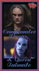 Commander and Queen Forever by slinkymellowship666