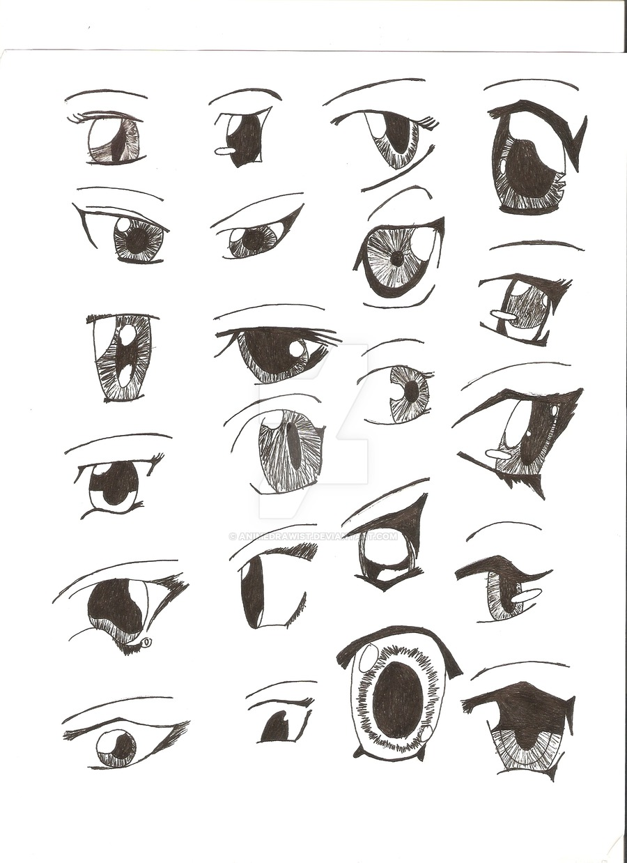 anime girl eyes by MrAgleter on DeviantArt