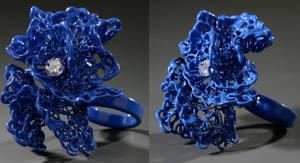 Blue Ring by KatieSchutte
