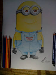 Raghad and Noor minions