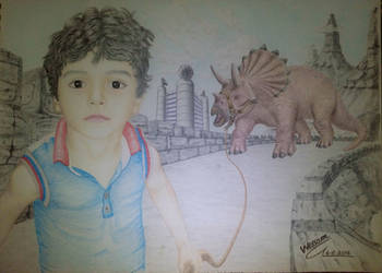 Hunter dinosaurs by WessamADEN