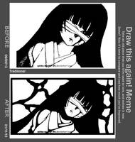 Draw This Again - 09/05/13 and 01/11/13 - Marker by anime-master-96