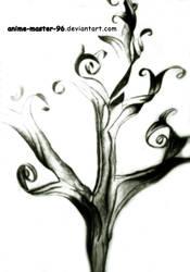 Floral Graphite