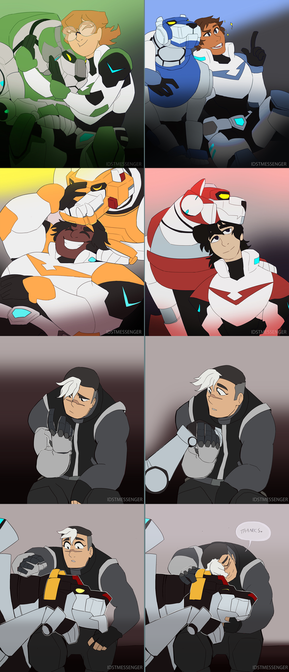 Voltron Lion Hugs! by IDSTMessenger